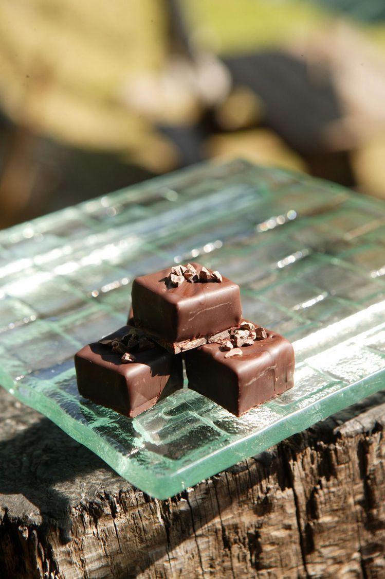 在合歡仙境中吃巧克力配白蘭地,還有甚麼比這更銷魂的事?圖/GQ提供
