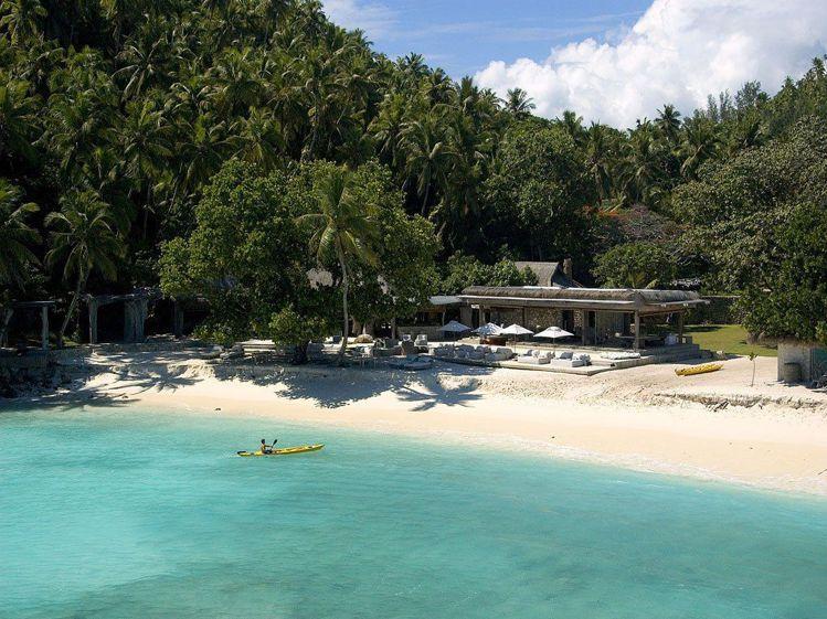 位在印度洋上的塞席爾北島渡假村整體設計以融入大自然為主,入住的旅客可以近距離觀察...