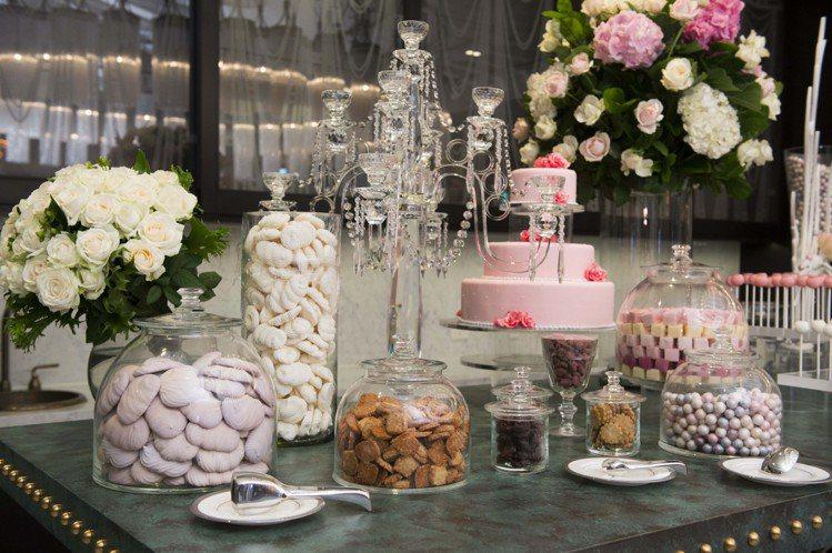 MOTPE Wedding 大宴會廳迎賓區由世界巧克力大師Frank Haasn...