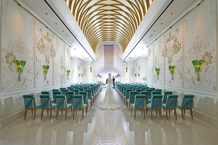 MOTPE Grand Salon 文華閣。圖/台北文化東方酒店提供