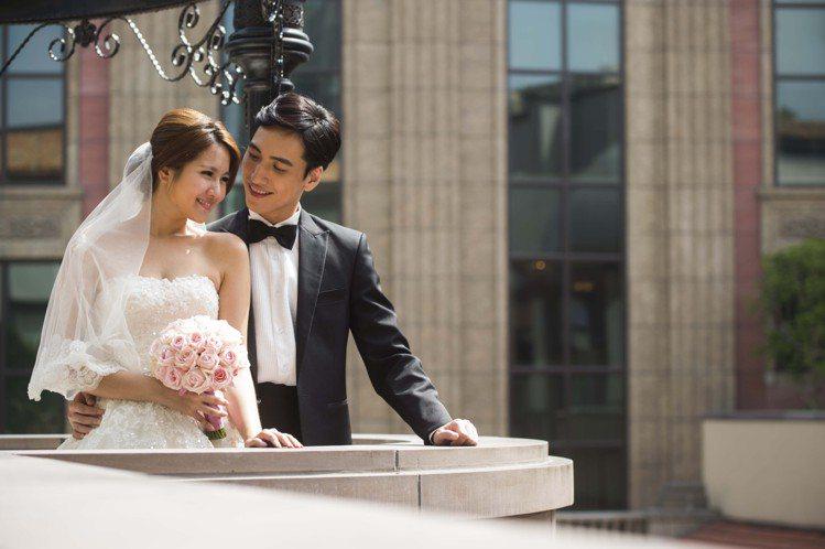 MOTPE Wedding Pergola 婚禮戶外庭園。圖/台北文化東方酒店...