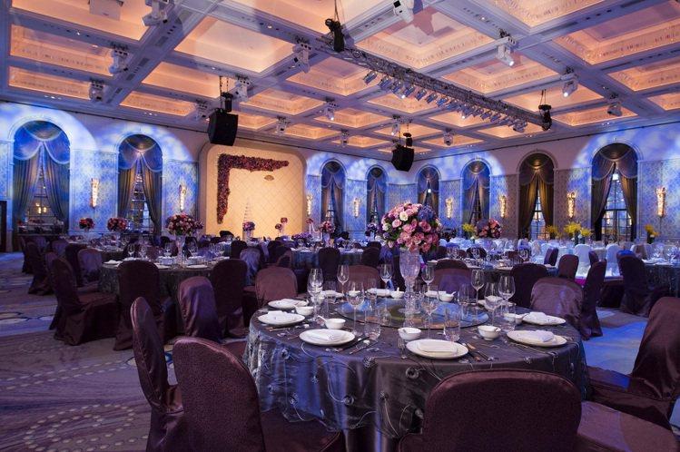 MOTPE Wedding 大宴會廳。圖/台北文化東方酒店提供