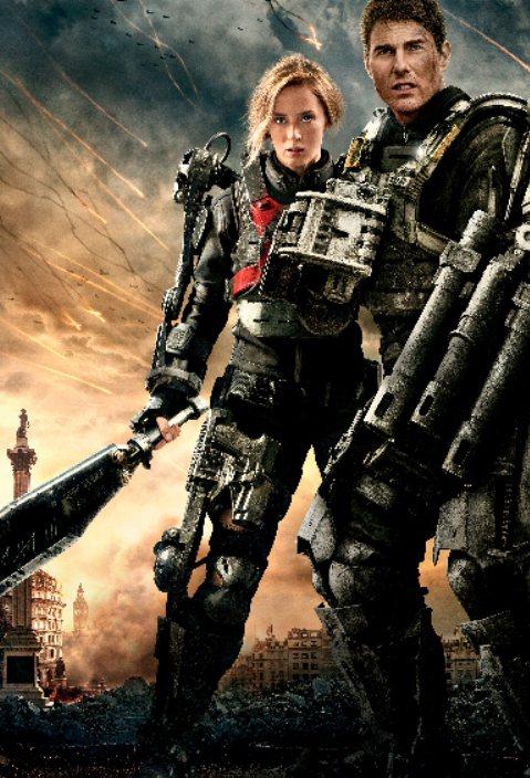 湯姆克魯斯與艾蜜莉布朗主演的《明日邊界 Edge of Tomorrow》獲得高...