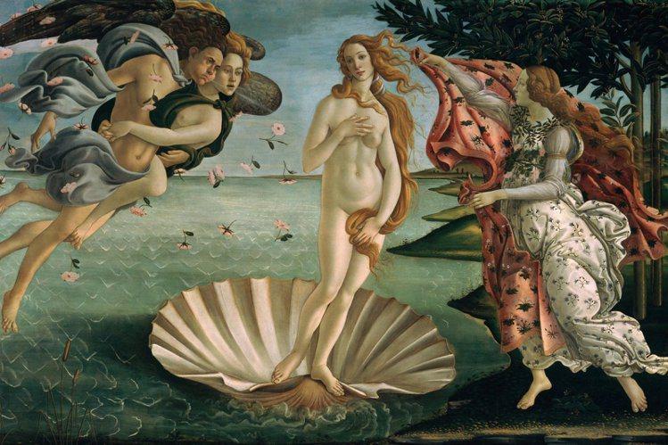 維納斯女神的身材不合格,走秀應該會被打回票。圖/摘自烏菲茲美術館官網
