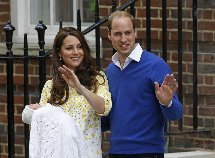 名人的時尚效應,勢不可擋,凱特王妃抱著小公主在鏡頭前站不到3分鐘,就創造10億英...