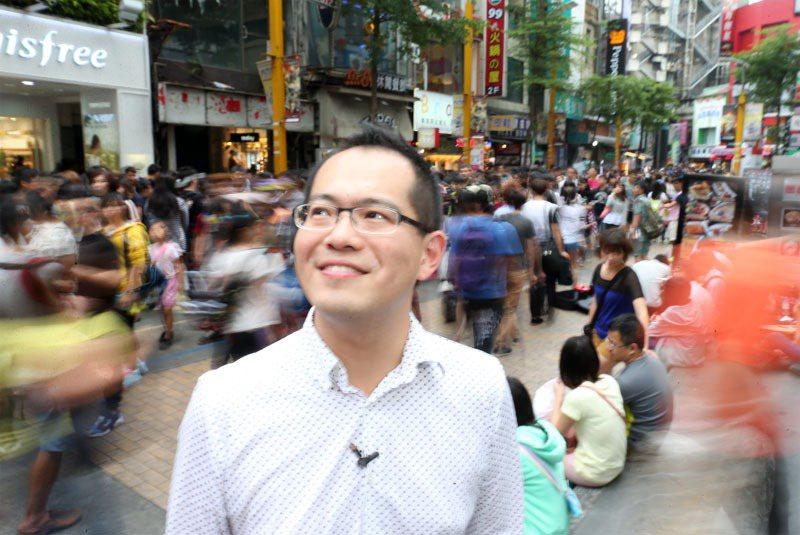廖文華牧師。 記者陳立凱/攝影