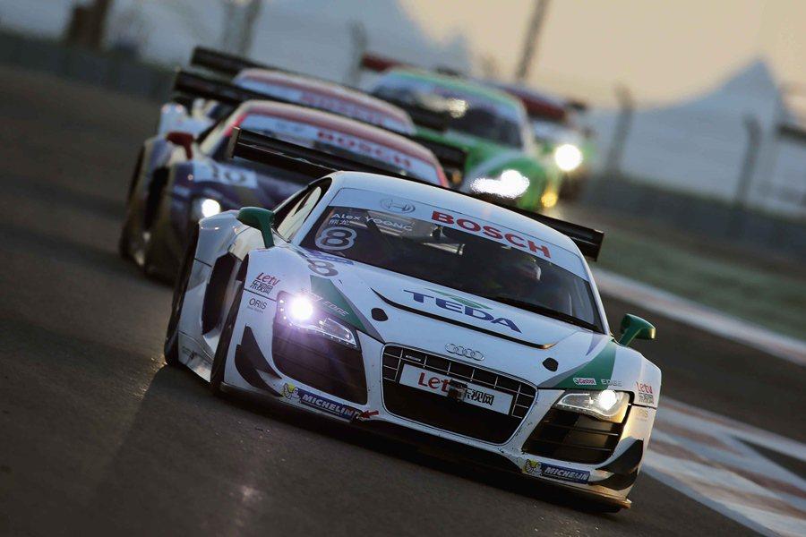 國際性賽車Audi R8 LMS Cup統一規格賽車,把台灣納入亞洲巡迴賽的一站...
