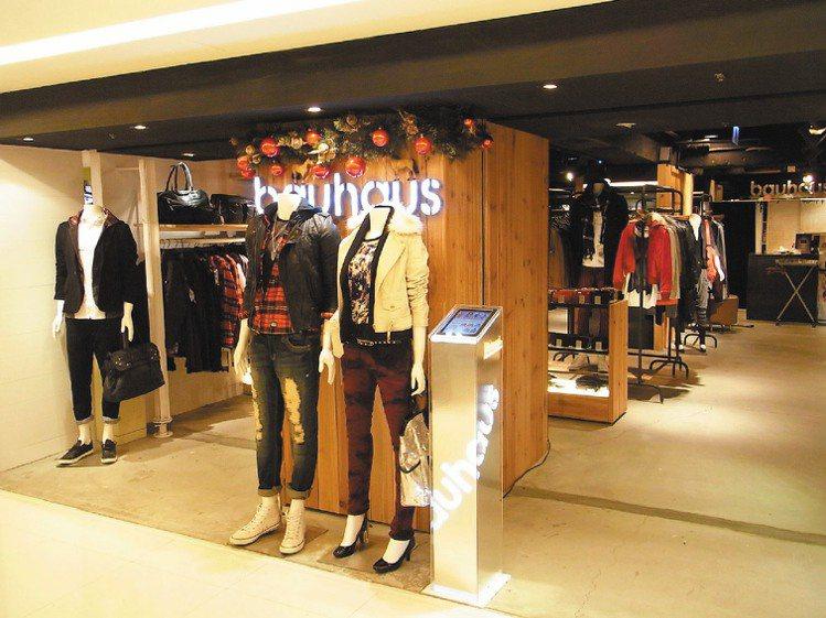 台灣複合式品牌店Bauhaus推出iPad瀏覽fashion catalog服務...