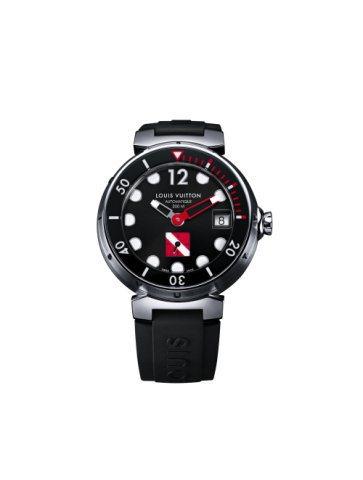 LV春夏新推出的Tambour Diving II潛水表,可防水300米。圖/L...