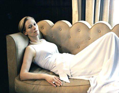 Tilda Swinton在《我愛故我在》裡飾演出軌的貴婦。圖/瀚宇國際提供