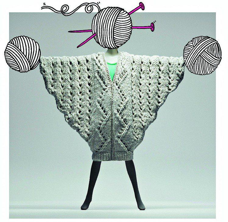 Esprit 與英國皇家藝術學院 設計師Victoria Hill合作的作品。 ...