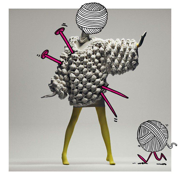 Victoria Hill大量的編織設計,讓人聯想到台灣設計師古又文的作品。圖/...