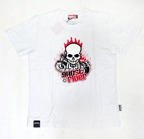 惡靈戰警Q版骷髏頭騎士短袖T-shirt。圖/威視電影