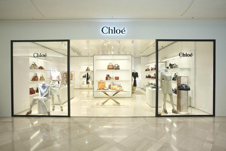 Chloé在2011年於信義區開設全台首間概念店。 圖/Chloé提供