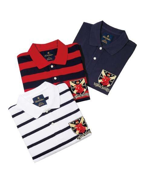 龍年限量紀念款POLO衫/2,880元,全台限量50件。圖/TVBS周刊提供