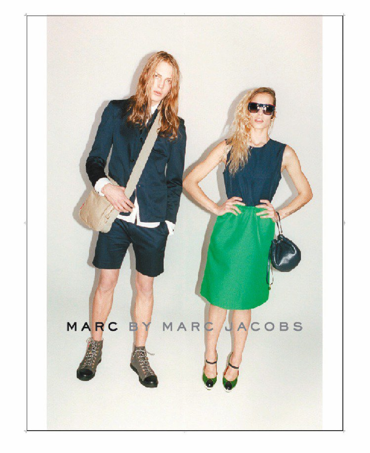 Marc By Marc Jacobs發表2012春夏廣告,重返60年代普普風。...