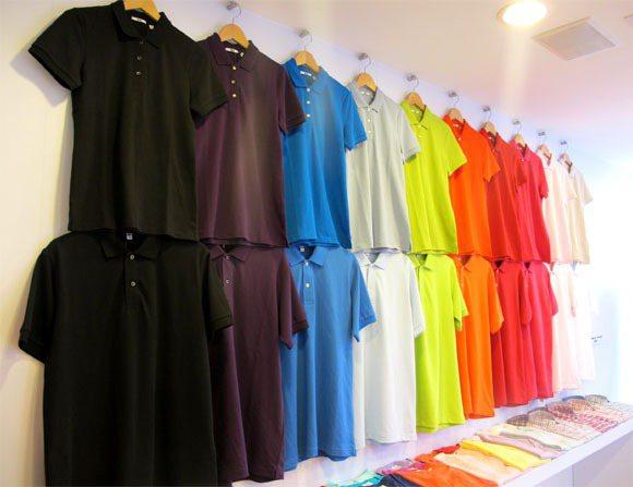 UNIQLO春夏colorful上衣。記者吳曉涵/攝影