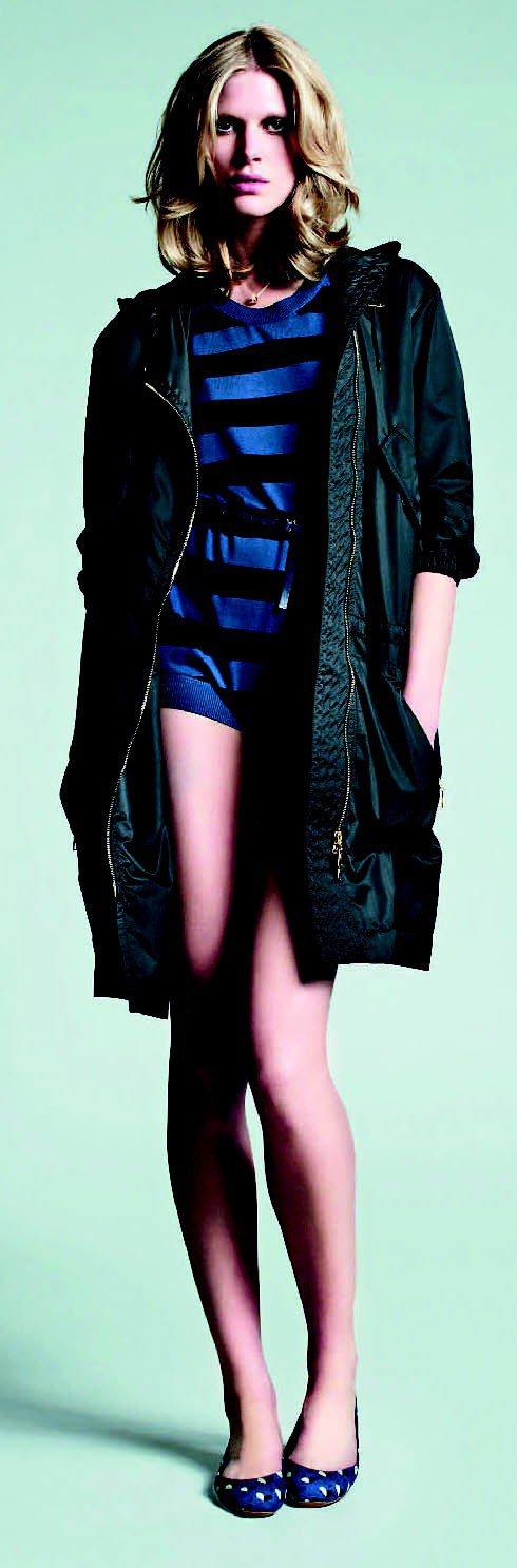 LV頂級蠶絲與cashmere 羊毛混紡而成的開襟針織衫。圖/LV提供