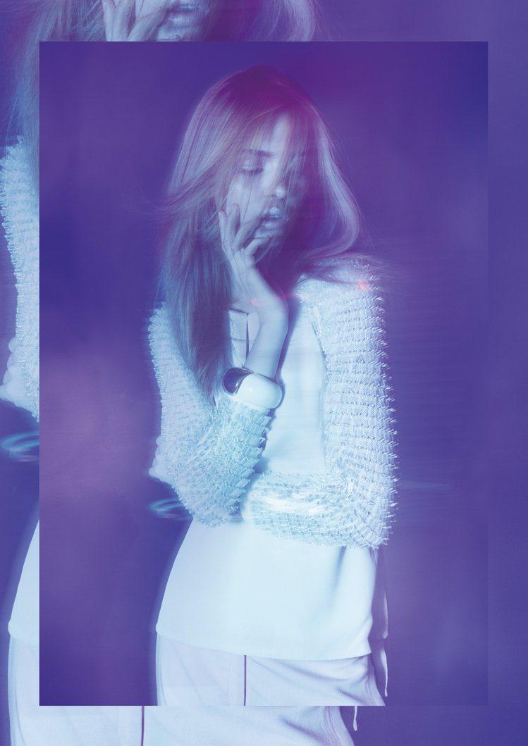 MOISELLE 2012春夏系列擺脫一般女裝甜美風格,展現奢華嫵媚感。圖/MO...