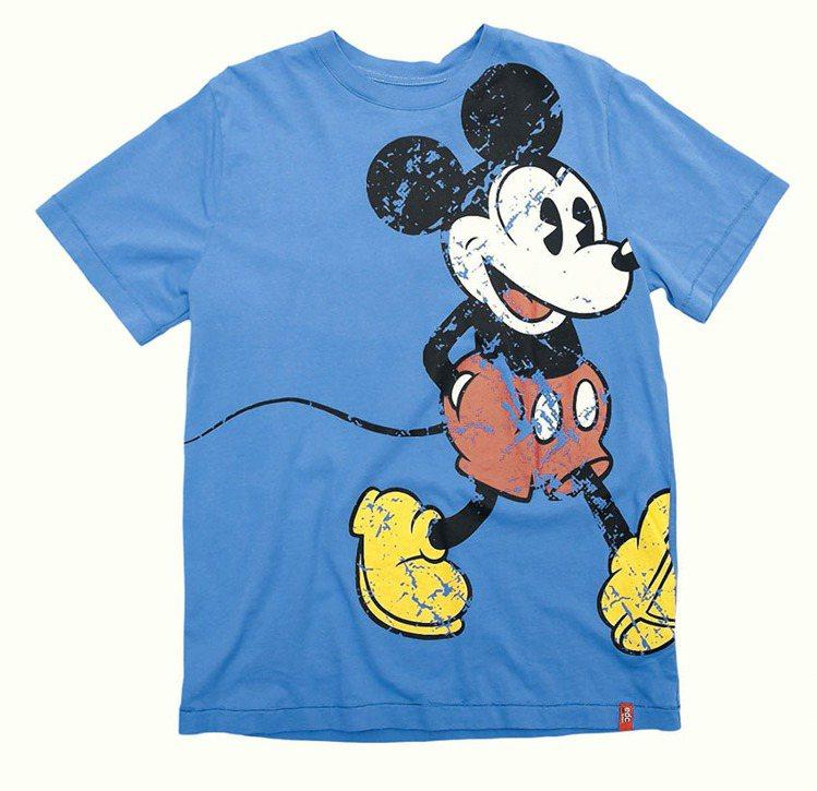 青少年款米老鼠T恤980元。圖/Esprit提供
