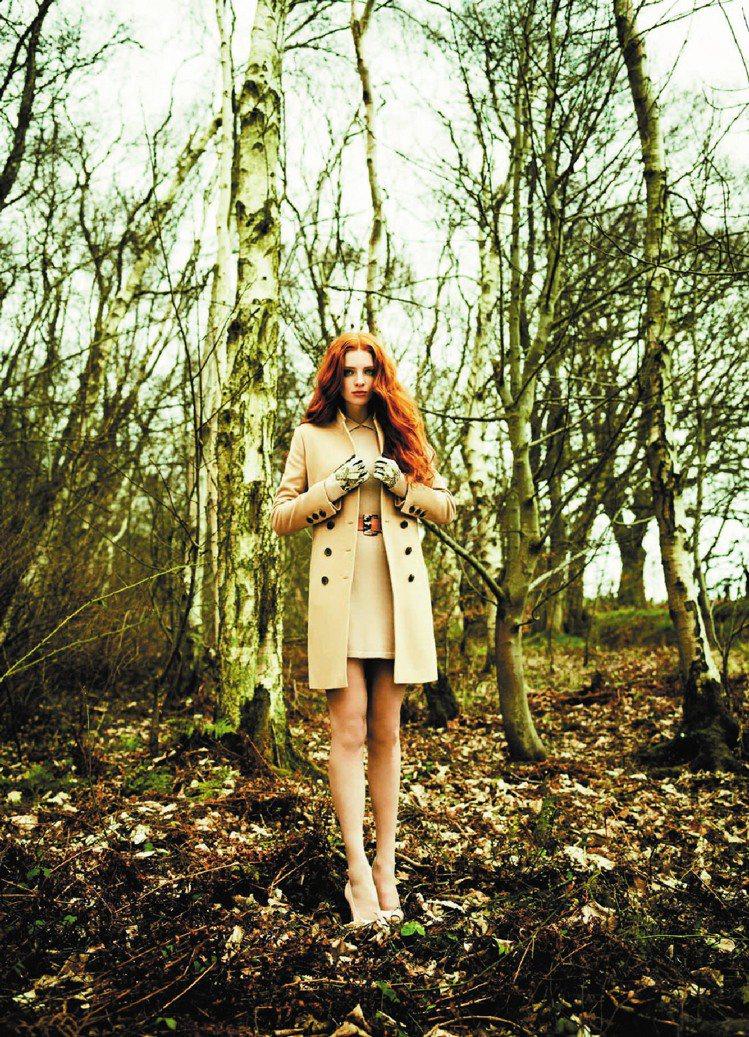 Ted Baker秋冬女裝從自然汲取靈感。圖/Ted Baker提供