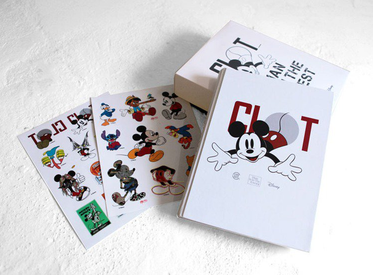 《CLOT & Disney:Man Is In The Forest》Retr...