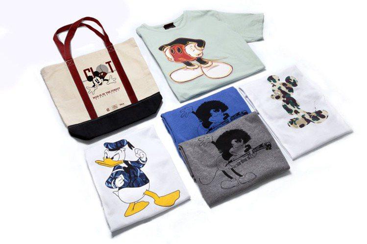 為慶祝典藏書的上市,CLOT & 迪士尼更推出多種不同組合搭配,包括米奇經典lo...