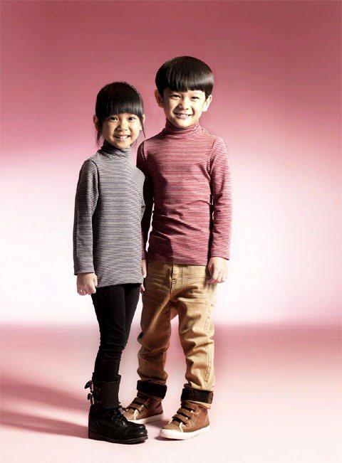 「FET重發熱衣系列」以日本新保暖科技纖維EKS製成,強調吸濕發熱機能。圖/FE...