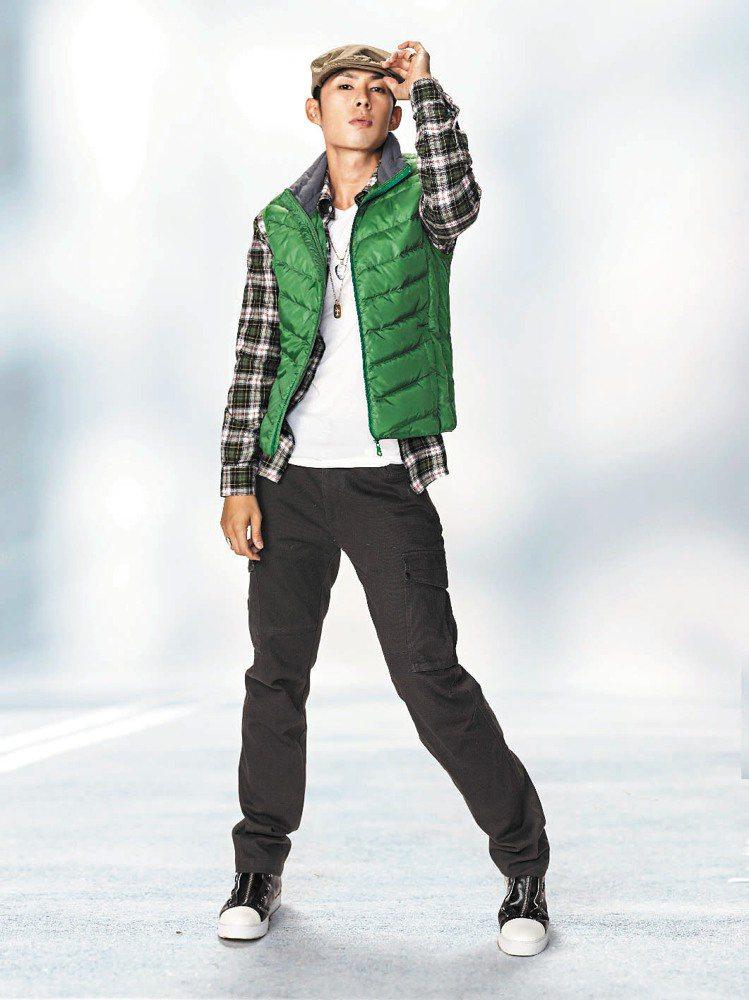 Hang Ten今年靠輕量羽絨衣帶動買氣。圖/Hang Ten提供
