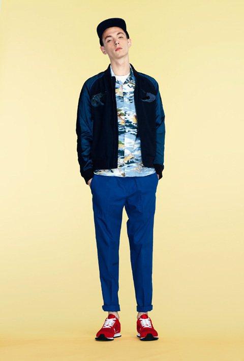 Lacoste L!ve運用塗鴉、色調差異展現青少年的活潑感。圖/Lacoste...