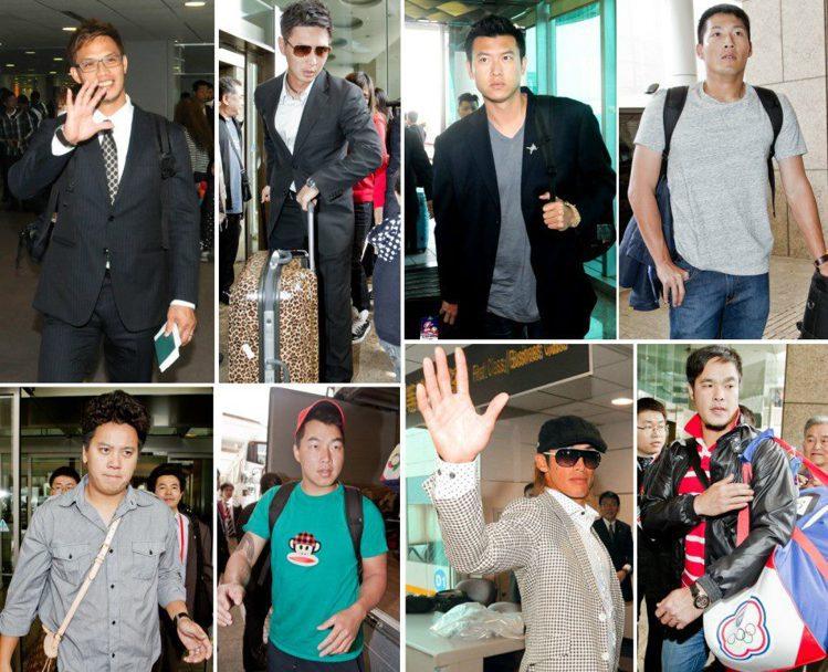 棒球經典賽中華隊球員身材精實,是天生的衣架子。記者陳嘉寧、黃士航/攝影