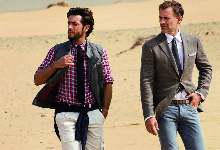 領帶是不景氣時,男人更應Dress up的時髦道具。圖/BC提供