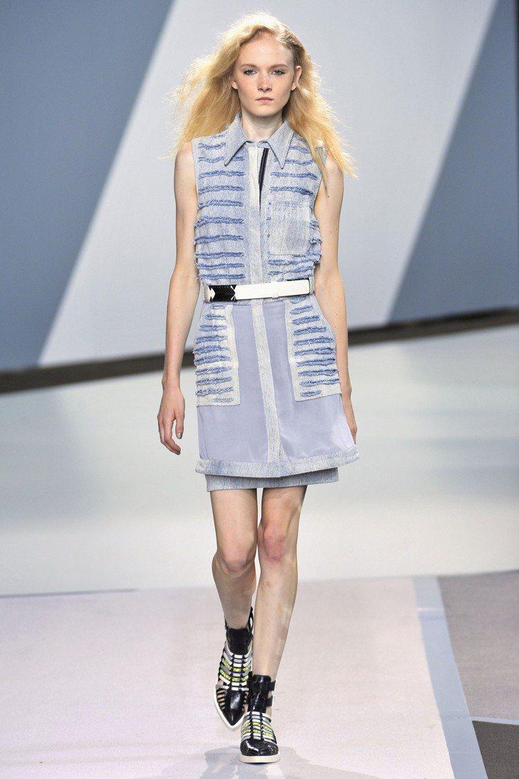 3.1 Phillip Lim 2013春夏襯衫式洋裝 $29,280。圖/Le...