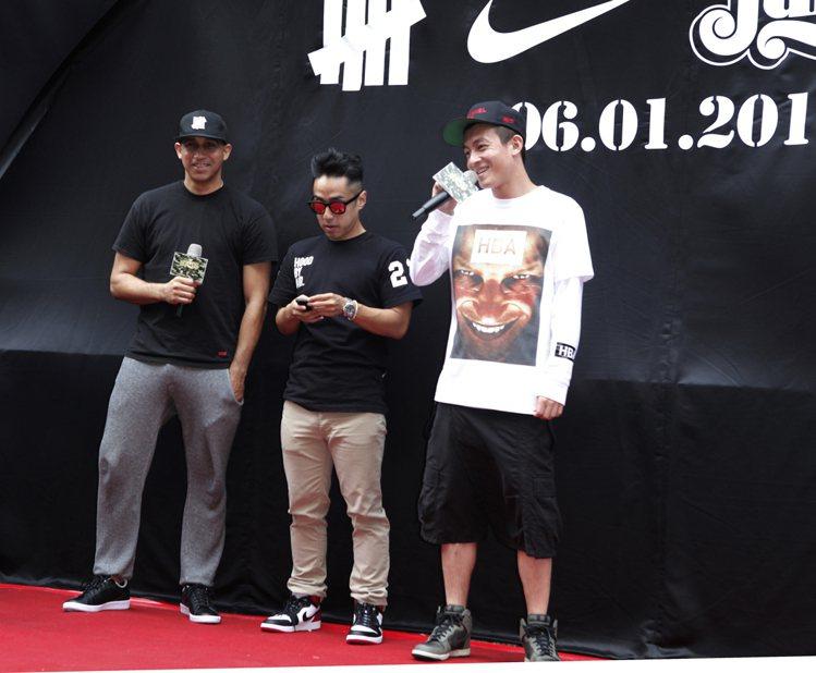 JUICE Taipei品牌主理人陳冠希、潘世亨與特別嘉賓Undefeated主...