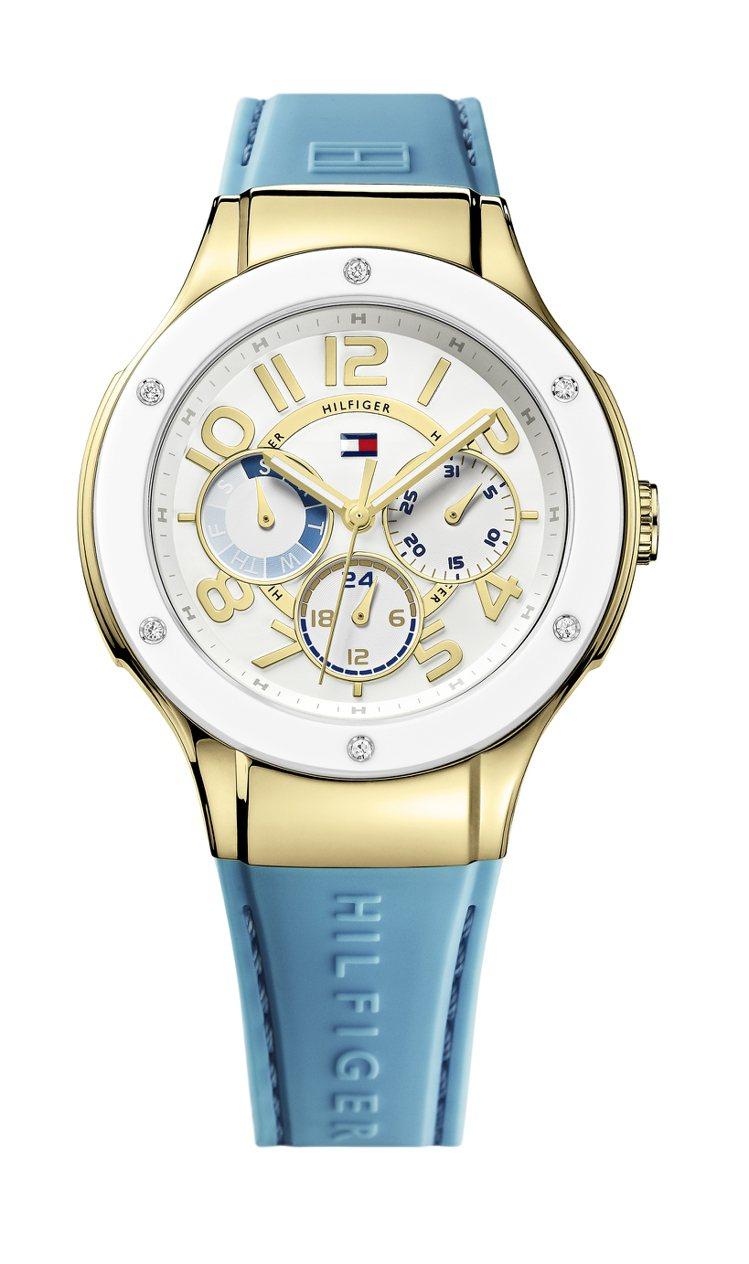 Tommy Hilfiger航海女神系列腕表,定價6950元。圖/鐘貿提供