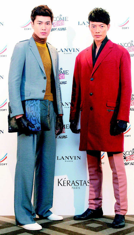 LANVIN晚宴發表秋冬新裝並結合公益。記者屠惠剛/攝影