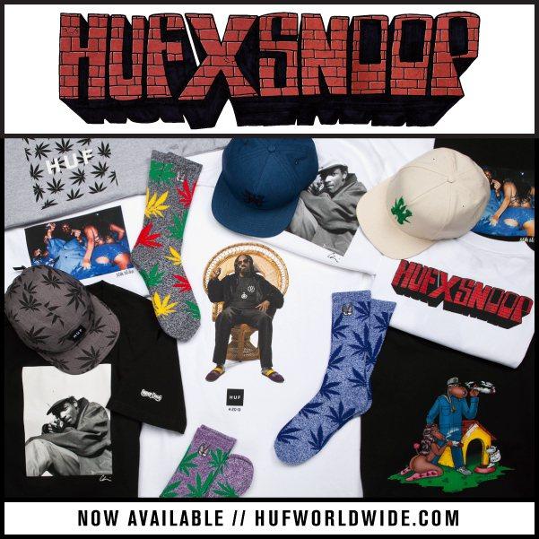HUF首度與藝人聯名推大麻系列,經典大麻襪色彩多樣。 圖/摘自HUF官網