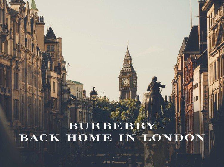 英倫精品 Burberry 今年首度將男裝秀移回倫敦舉辦。圖/Burberry提...