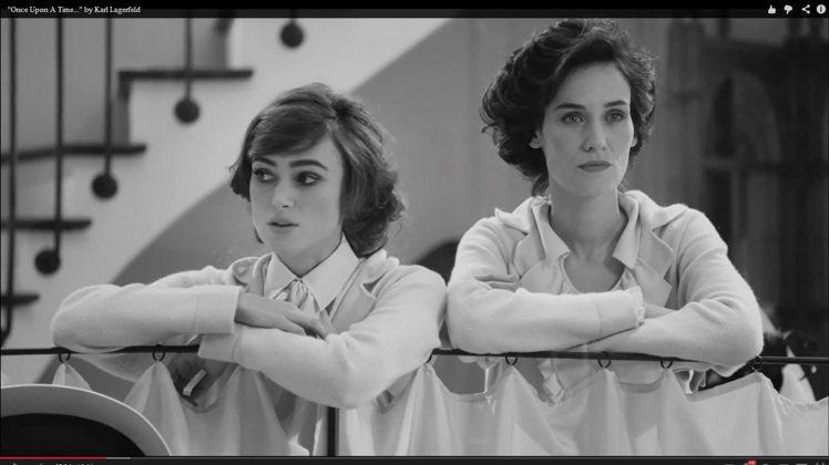 香奈兒微電影邀請到大牌女星綺拉奈特莉(左)主演,還找來多位一線名模、名媛尬上一角...