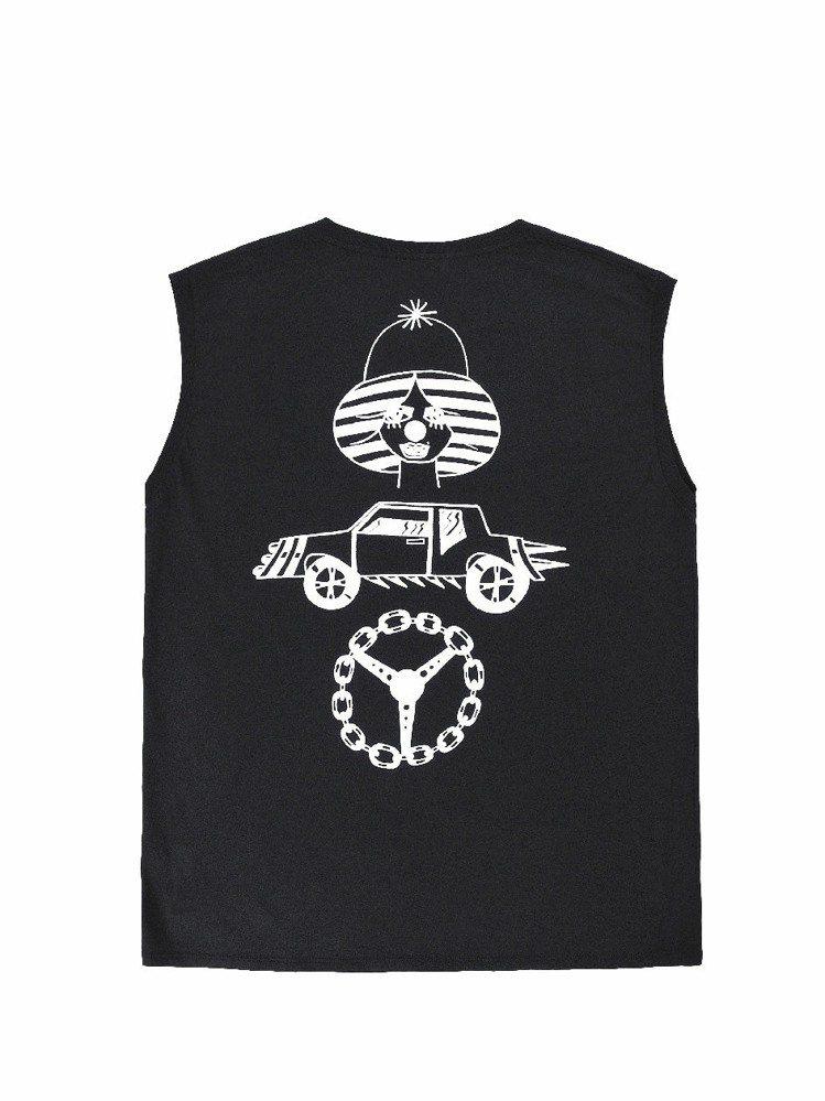 YSL邀藝術家Jesse Spears創造T恤。圖/YSL提供