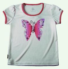 歐都納Atunas Tex小孩短袖T恤原價950元、特價580元。圖/歐...