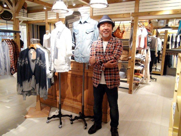 BEAMS社長設樂洋多次來台,選擇民生社區開直營店。除服飾,BEAMS也發展藝術...