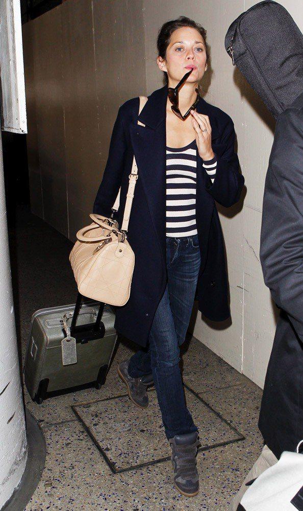 瑪莉亞柯蒂詠穿Isabel Marant。圖;文/美麗佳人提供