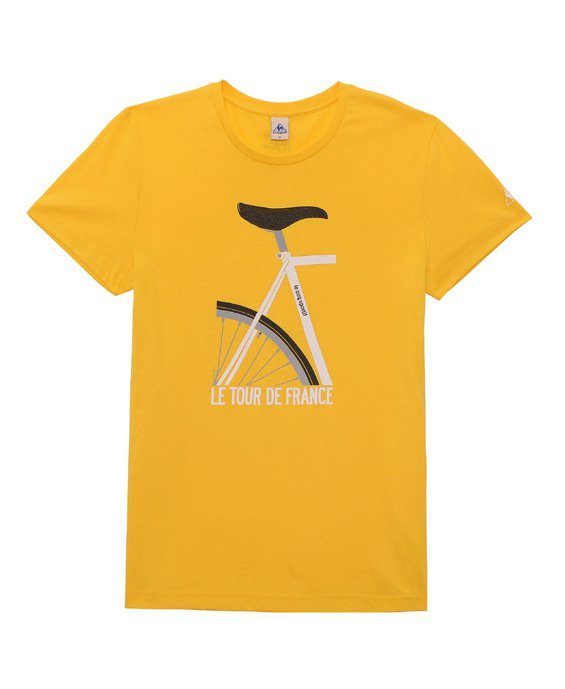 環法自由車賽限量T恤。圖/le coq sportif提供