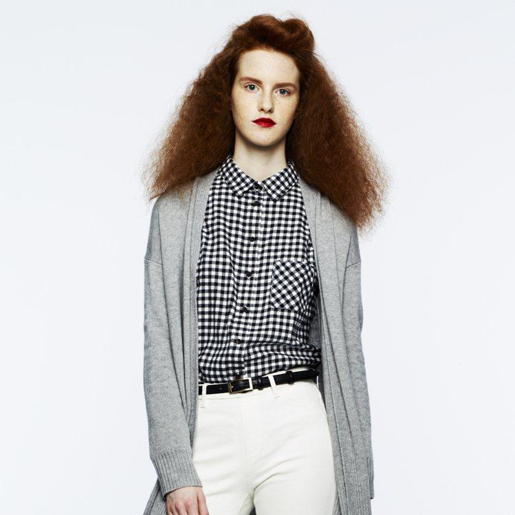 Cashmere喀什米爾系列新推出的長版外套。圖/UNIQLO提供