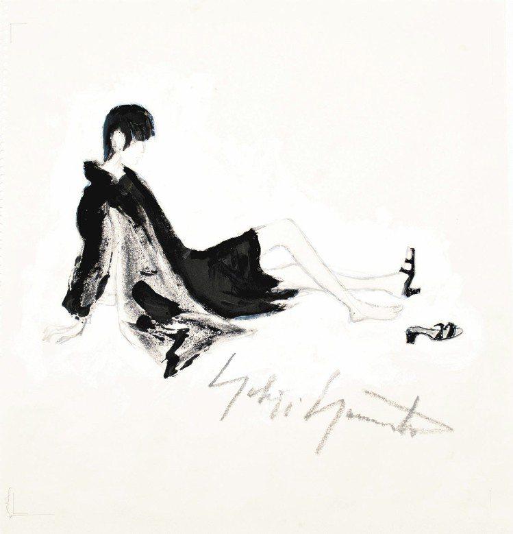 Art Complex by Yohji Yamamoto展覽一次展出10幅山本...