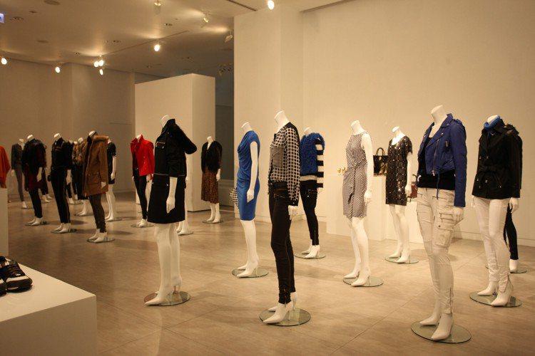 美國高級時尚品牌 MICHAEL KORS 在台北寒舍艾美酒店一樓 Galler...