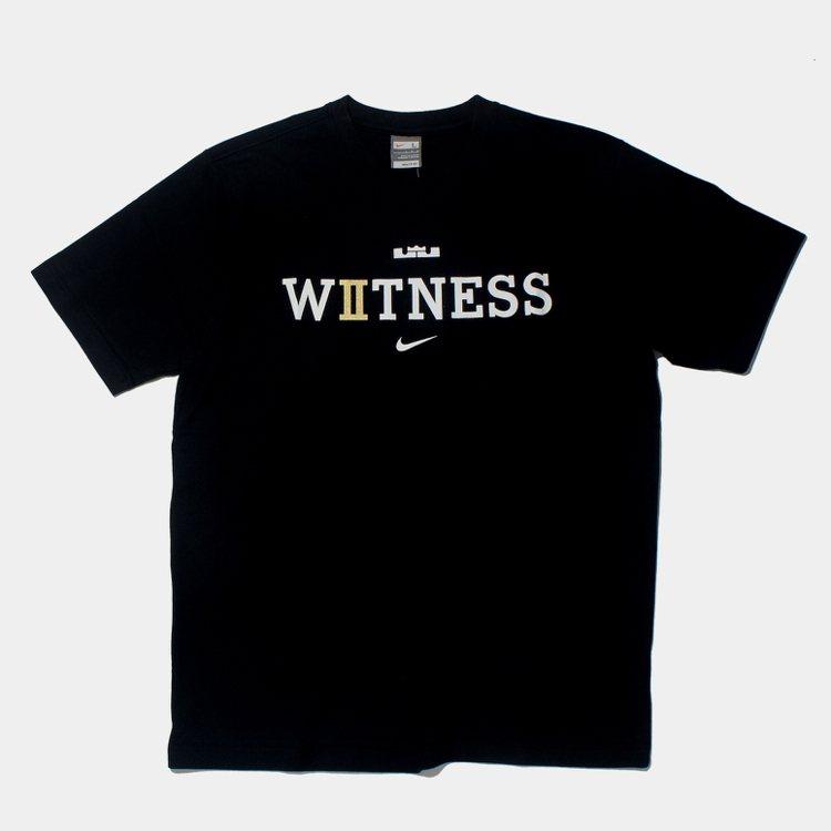 NIKE推出LeBron James冠軍紀念T恤。圖/NIKE提供