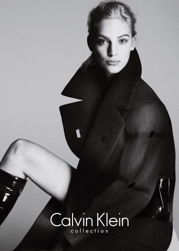 Calvin Klein Collection 秋季廣告。圖/Calvin Kl...