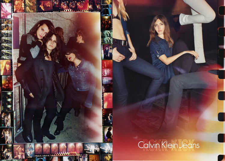 Calvin Klein Jeans 秋冬廣告。圖/Calvin Klein提供